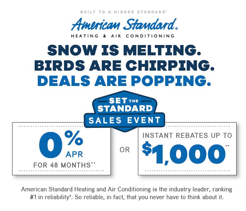 set the standard sales event